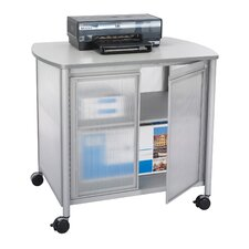 "<strong>Safco Products Company</strong> Impromptu Deluxe Machine Stand with Doors, 34.75"" Wide"