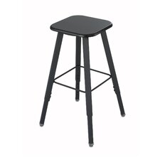 <strong>Safco Products Company</strong> Height Adjustable Stool with Footrest