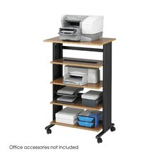 <strong>Safco Products Company</strong> MUV 5 Level Adjustable Printer Stand