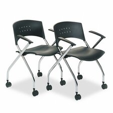 <strong>Safco Products Company</strong> Nesting Chair (Set of 2)