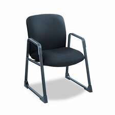 <strong>Safco Products Company</strong> Uber Series Big & Tall Sled Base Guest Chair