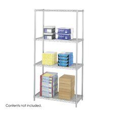 "<strong>Safco Products Company</strong> Industrial Wire Starter Unit (36"" x 18"" Shelves)"