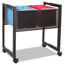 2-Drawer Adjustable Open Top Mobile Tub File