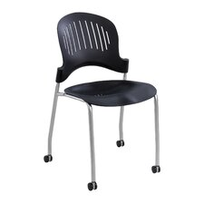 Zippi Plastic Stack Chair (Set of 2)