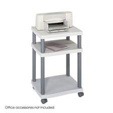 <strong>Safco Products Company</strong> Wave Design Printer Stand, 3-Shelf