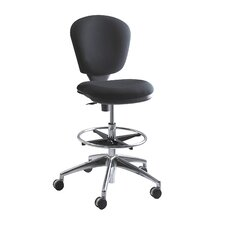 <strong>Safco Products Company</strong> Height Adjustable Drafting Chair with Swivel