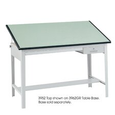 "Precision Drafting Rectangular Table Top, 60"" Wide"