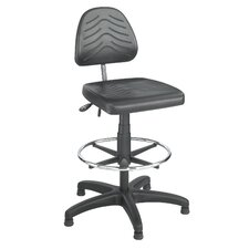 Height Adjustable Task Chair with Drafting Kit