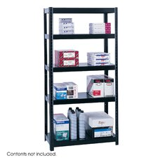 <strong>Safco Products Company</strong> Boltless Steel Shelving, 5 Shelves