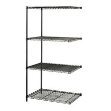 "Industrial Wire Add-On Unit (36"" x 24"" Shelves)"
