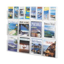 16 Pocket Magazine Rack