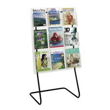 Reveal Magazine Display Floor Stand