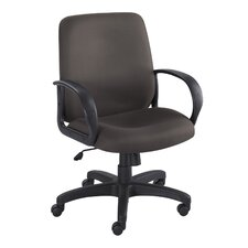 <strong>Safco Products Company</strong> Poise Executive Mid-Back Seat