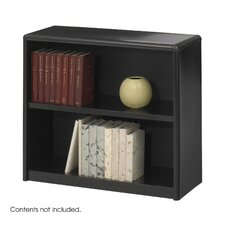 "Value Mate Series Bookcase, 2 Shelves, 28"" High"