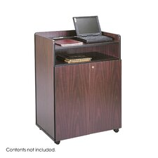 "Executive Mobile Presentation Stand, 29.5"" Wide"