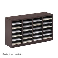 "<strong>Safco Products Company</strong> E-Z Store Wood 23"" Literature Organizer"