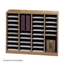 """E-Z Store Wood 32 1/2"""" Literature Organizer"""