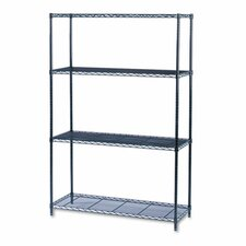 "Industrial 72"" H 4 Shelf Shelving Unit Starter"