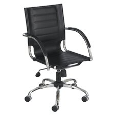 Flaunt Series Mid-Back Managerial Chair