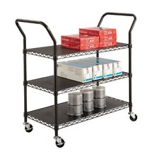 "40.5"" Wire Utility Cart"