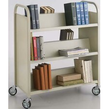 <strong>Safco Products Company</strong> Double-Sided Book Cart