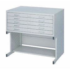 <strong>Safco Products Company</strong> Facil High Base File Cabinet
