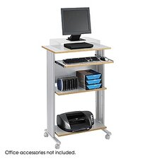 "<strong>Safco Products Company</strong> MUV 30"" W Fixed Height Stand-Up Workstation"