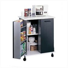 "33.125"" Refreshment Kitchen Cart"