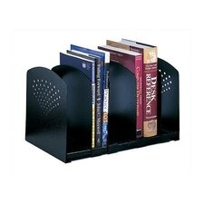 Five-Section Adjustable Book Rack
