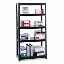 "Boltless 72"" 5 Shelf Shelving Unit Starter"