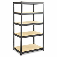 "Boltless 72"" H 5 Shelf Shelving Unit Starter"