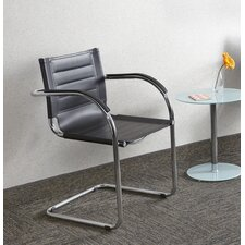 <strong>Safco Products Company</strong> Flaunt Leather Guest Chair