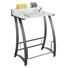 <strong>Safco Products Company</strong> Computer Desk with Xpressions Stand Up Workstation