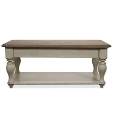 <strong>Riverside Furniture</strong> Coventry Two Tone Coffee Table with Lift-Top