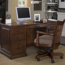 "Cantata 54"" Flat Top Computer Desk"
