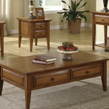 <strong>Riverside Furniture</strong> Oak Ridge Coffee Table Set