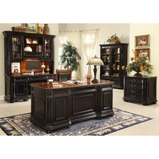 <strong>Riverside Furniture</strong> Allegro Standard Desk Office Suite