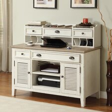 <strong>Riverside Furniture</strong> Coventry 2 T1 Credenza Desk with Hutch