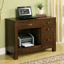 <strong>Riverside Furniture</strong> Castlewood Computer in Warm Tobacco