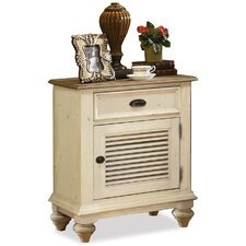 <strong>Riverside Furniture</strong> Coventry 2 Tone 1 Drawer Nightstand