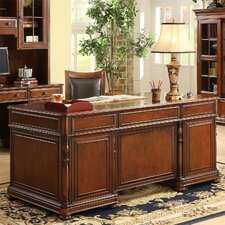 <strong>Riverside Furniture</strong> Bristol Court Executive Desk