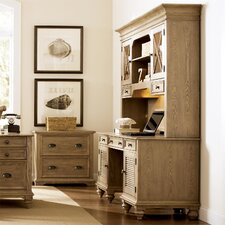 <strong>Riverside Furniture</strong> Coventry Shutter Door Credenza and Hutch