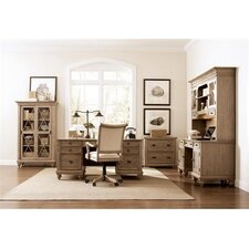 <strong>Riverside Furniture</strong> Coventry Executive Desk Office Suite