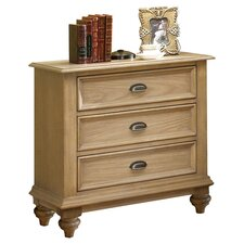 <strong>Riverside Furniture</strong> Coventry 3 Drawer Nightstand