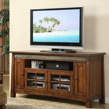 "<strong>Riverside Furniture</strong> Craftsman Home 62"" TV Stand"