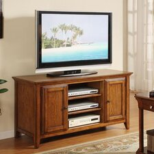 "<strong>Riverside Furniture</strong> Oak Ridge 52"" TV Stand"