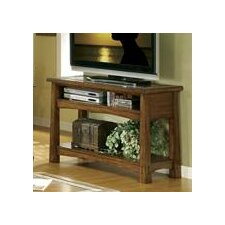 <strong>Riverside Furniture</strong> Craftsman Home Console Table