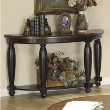 <strong>Riverside Furniture</strong> Delcastle Demilune Console Table