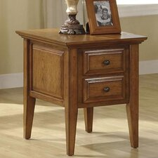 <strong>Riverside Furniture</strong> Oak Ridge End Table