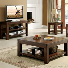 <strong>Riverside Furniture</strong> Castlewood Coffee Table Set